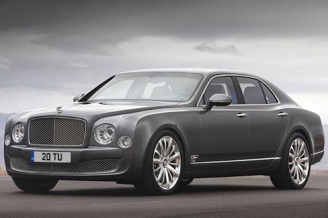 2013 Bentley Mulsanne Front Exterior