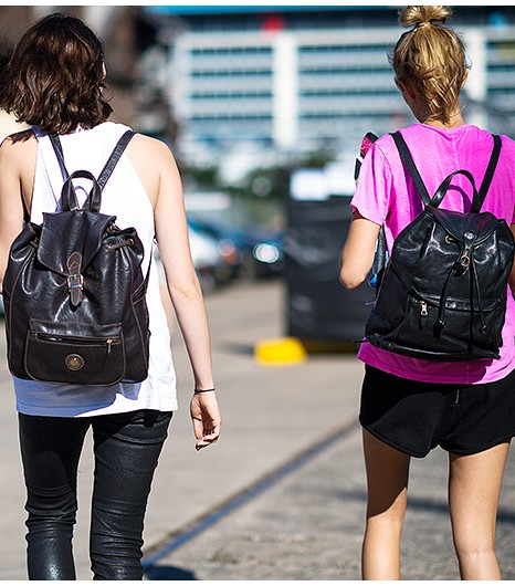 Backpack Street Style Fashion