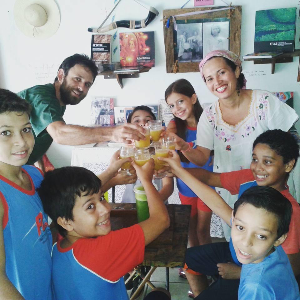 Escolas de Bonito visitando a Casa da Memória Raída