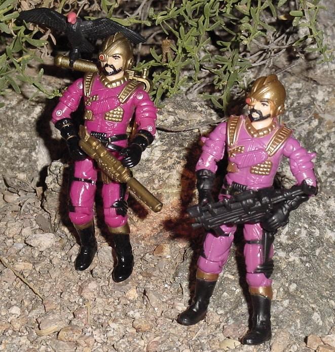 Mestre Rapina, Brazil, Estrela, Voltar, 1988, Iron Grenadier