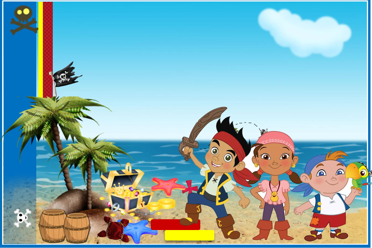 Jake and Neverland Pirates Free Printables