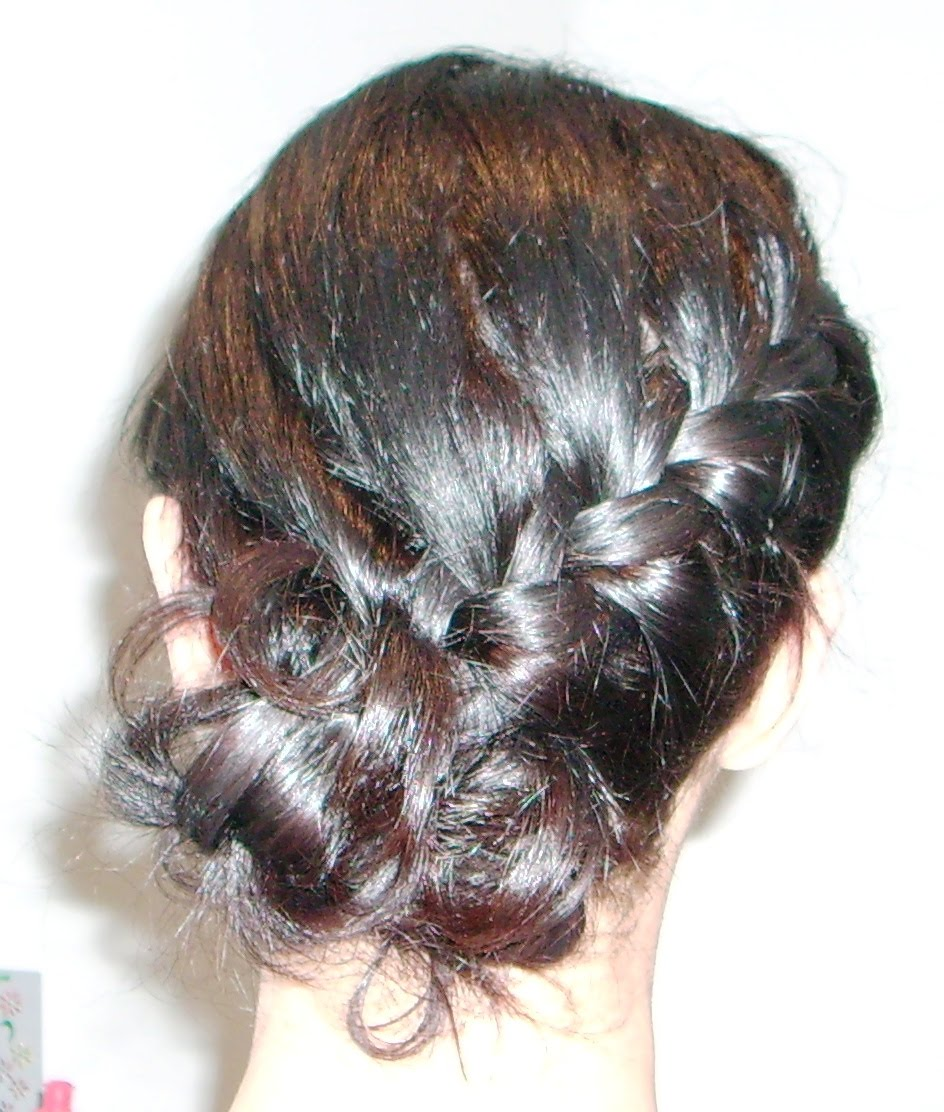 Creative  Romance  30 Buns In 30 Days  Day 8  Dutch Braided Bun Hairstyle