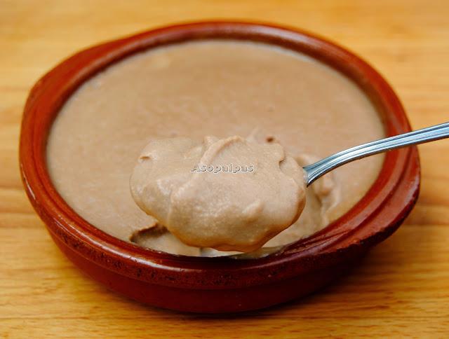 Natillas de Chocolate y Mantequilla de Cacahuete