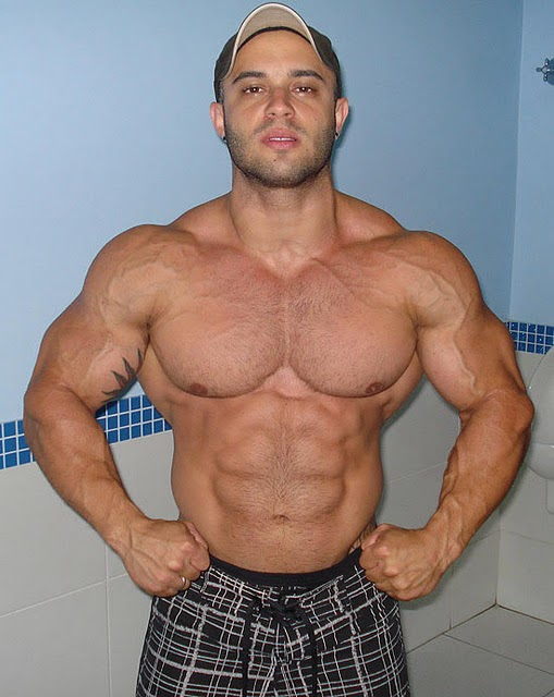 world bodybuilders pictures: brazilian bodybuilder