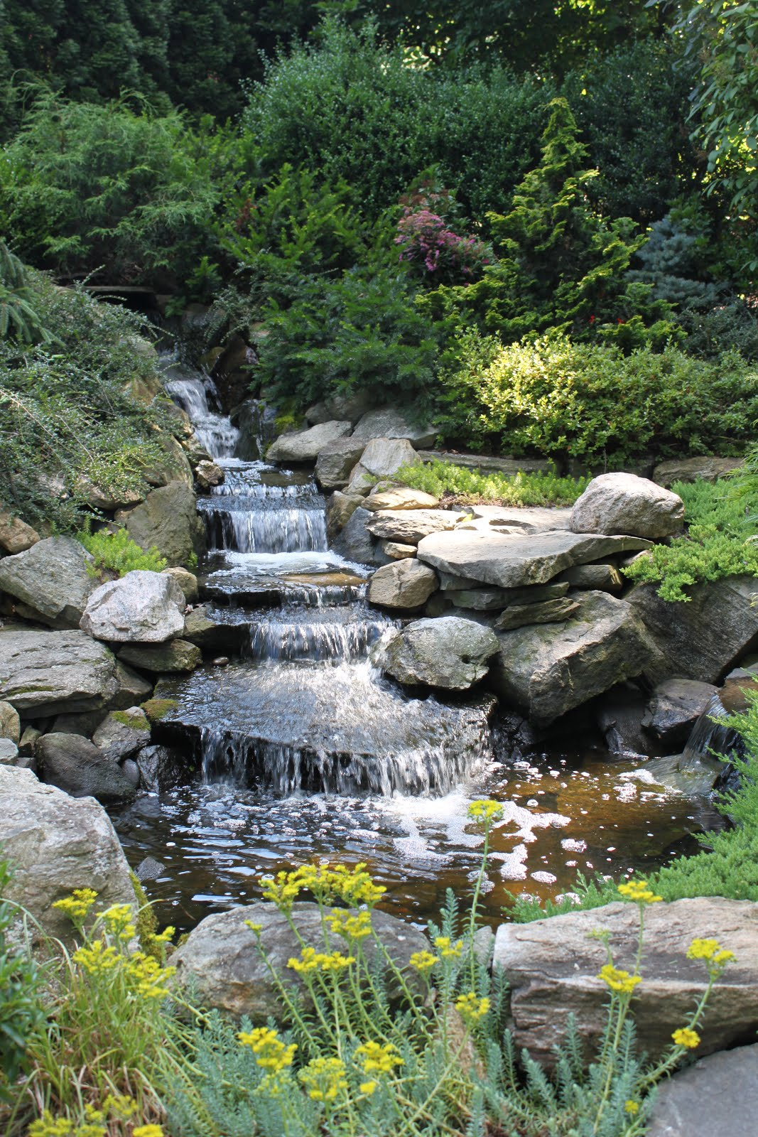 A Waterfall Garden Tour