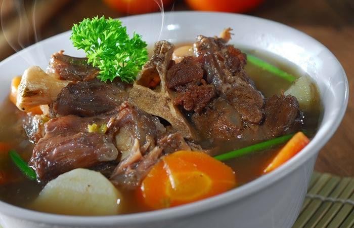 Sop buntut, resep sop buntut, cara membuat sop buntut, cara bikin sop