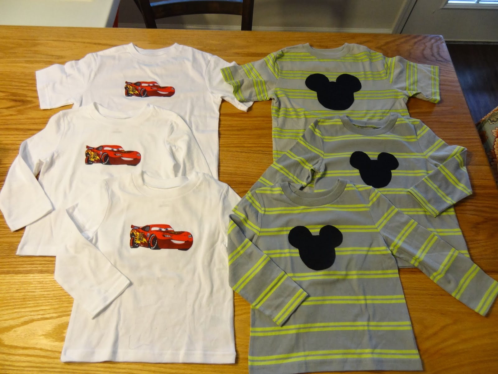 Make your own Disney shirts