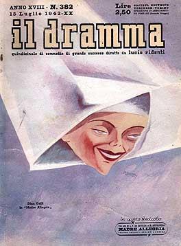Il Dramma n. 382, 15 luglio 1942, copertina