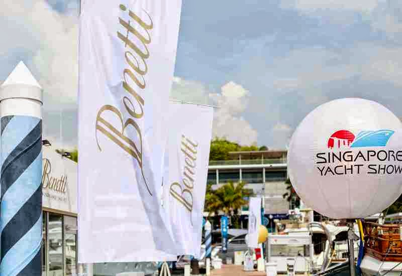 Benetti, Singapore Yatch Show 2015, Gold Coast Marina, Sinagpore, Yatch