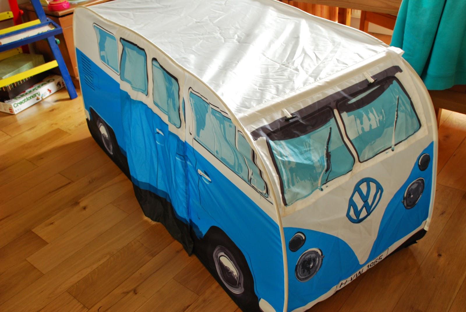 Image of camper van tent