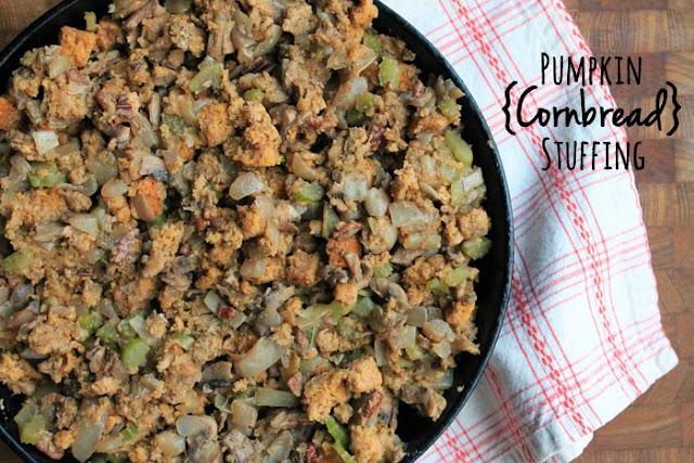 Pumpkin Cornbread Stuffing