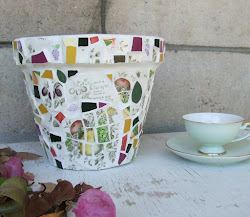 **  Mosaic pots for SALE  **