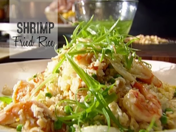 Shrimp fried rice recipe for chinese cooking