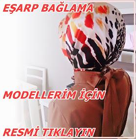 EŞARP BAĞLAMA MODELLERİM