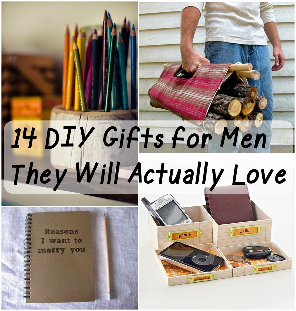 14 DIY Gifts for Men They Will Actually Love