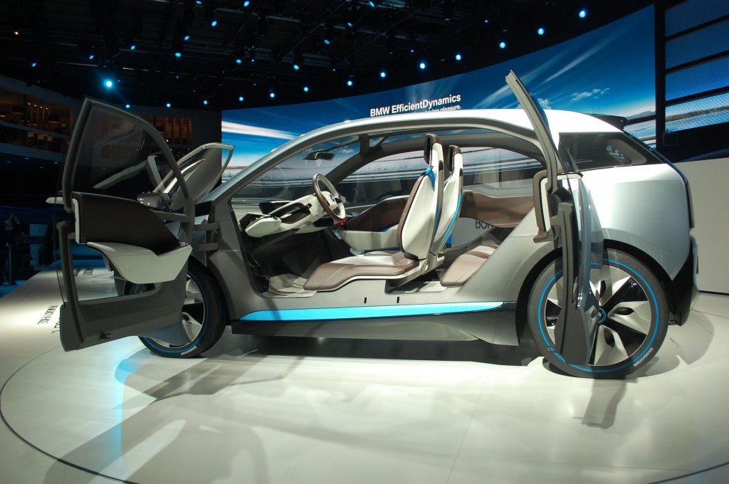 The Electric BMW i3: 2011