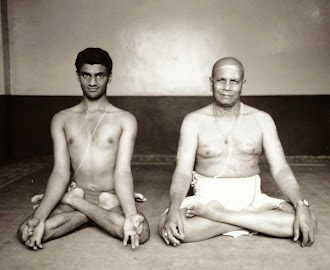 Sharath & Sri K. Pattabhi Jois