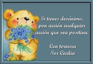 Muchas gracias querida Sor Cecilia.