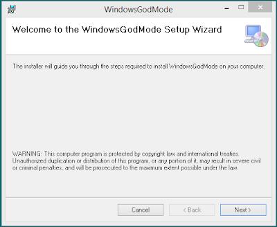 God Mode for Windows 1