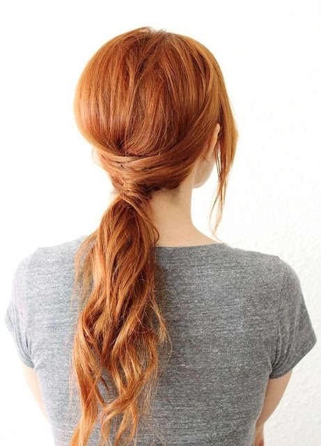 Pony-tail Hairstyle 2015
