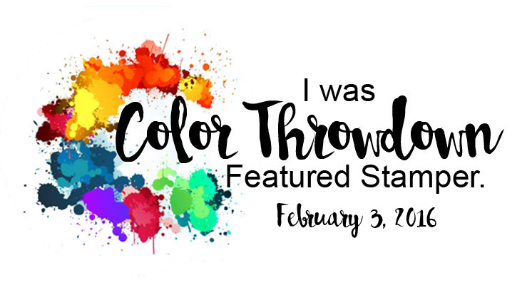 Color Throwdown Challenge
