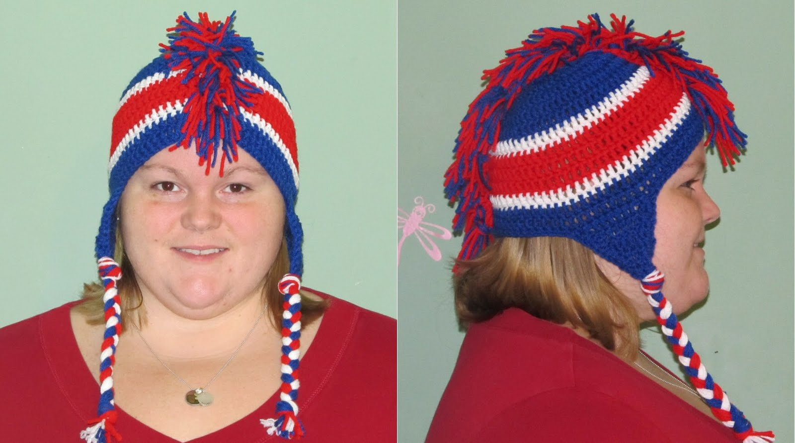 Simply Crochet And Other Crafts Mohawk Hat With Earflaps