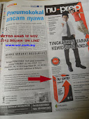 BELIAN ONLINE - KLIK PRODUK SELAMAT NU-PREP TERBAIK ILKAN METRO AHAD 18 November 2012