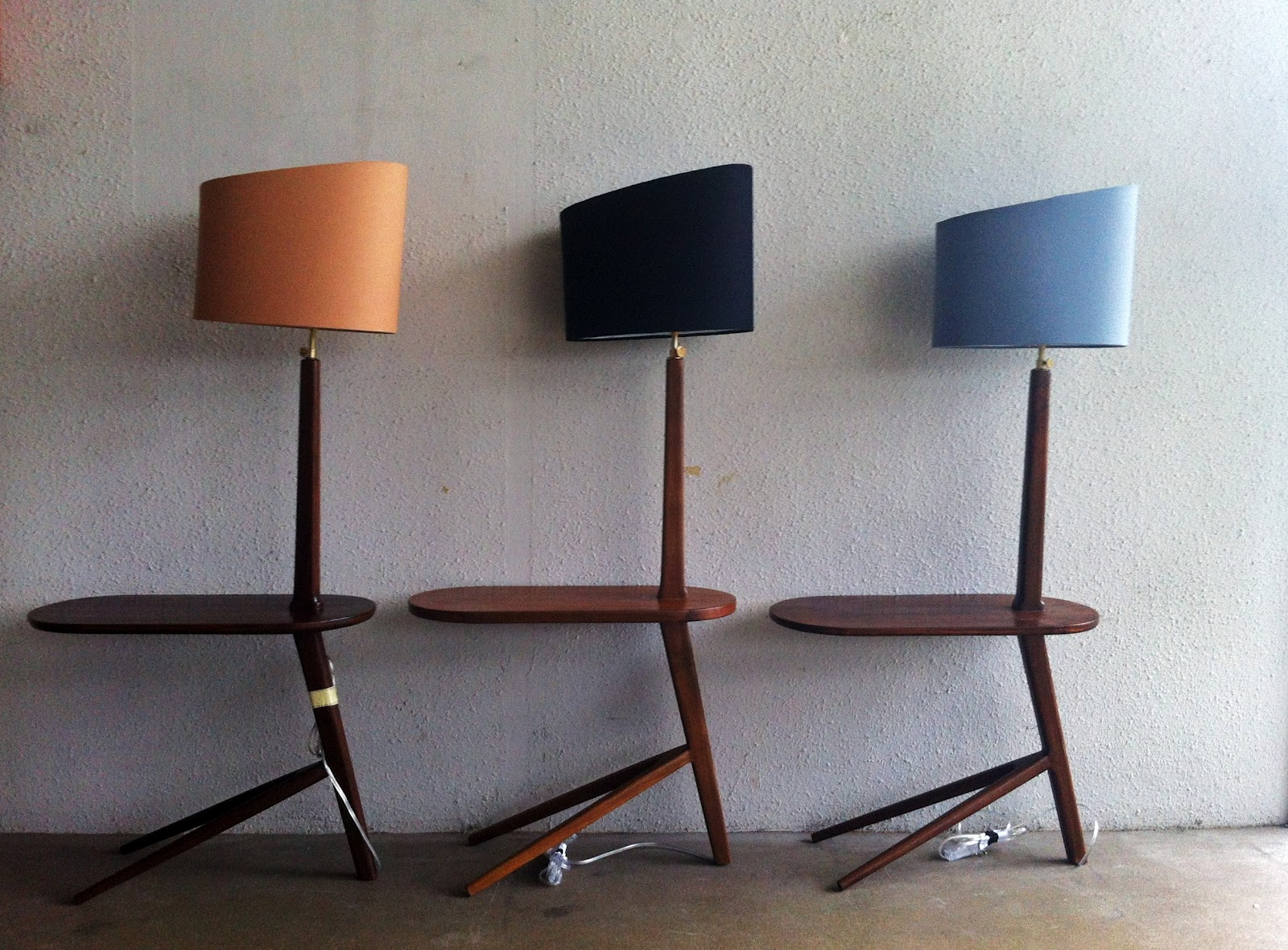 Second charm collections scandinavian inspired lamps ashley the smaller lamp shades are handcrafted too and they come in three shades of black cuppuccino brown and bluish grey we hope to add more designs of aloadofball Image collections