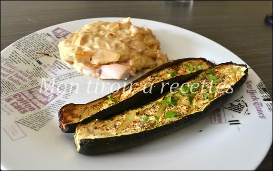 courgettes grillées