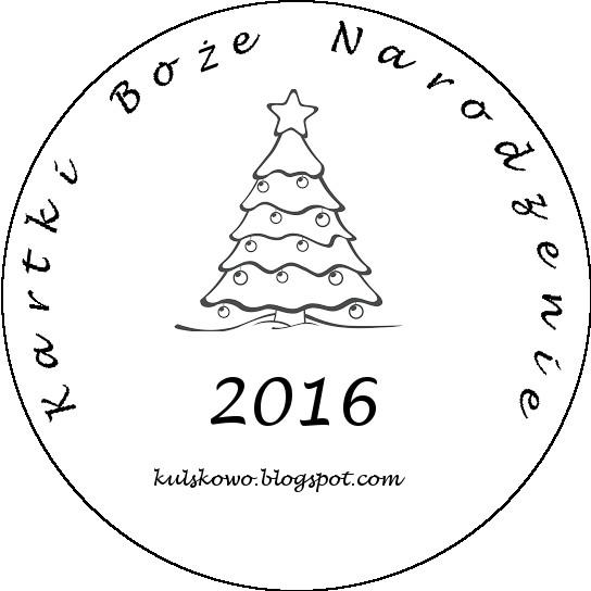 Kartki Boże Narodzenie 2016