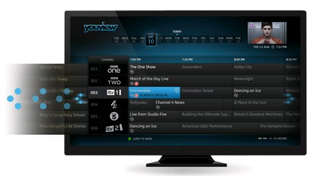 YouView Internet TV program features img