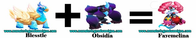 como obtener el monstruo fayemelina en monster legends formula 3