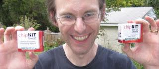 Tom grinning