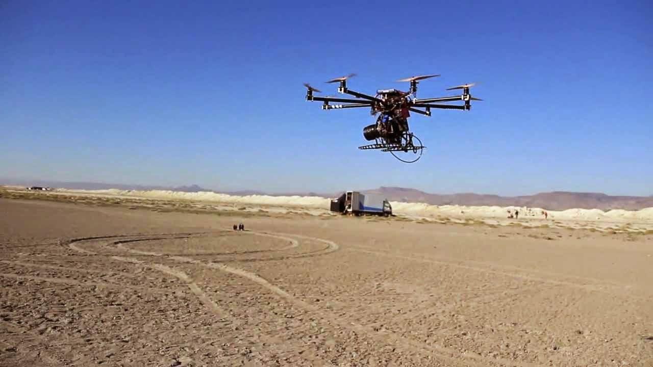 Drones en el cine