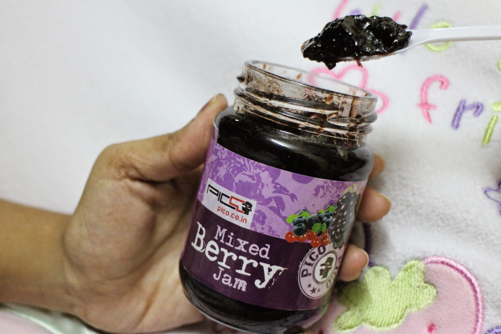 Godrej Nature's Basket, Pico, Jam, Mixed Berries Jam, Food