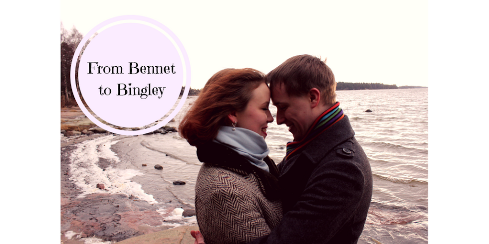 From Bennet to Bingley - hääblogi