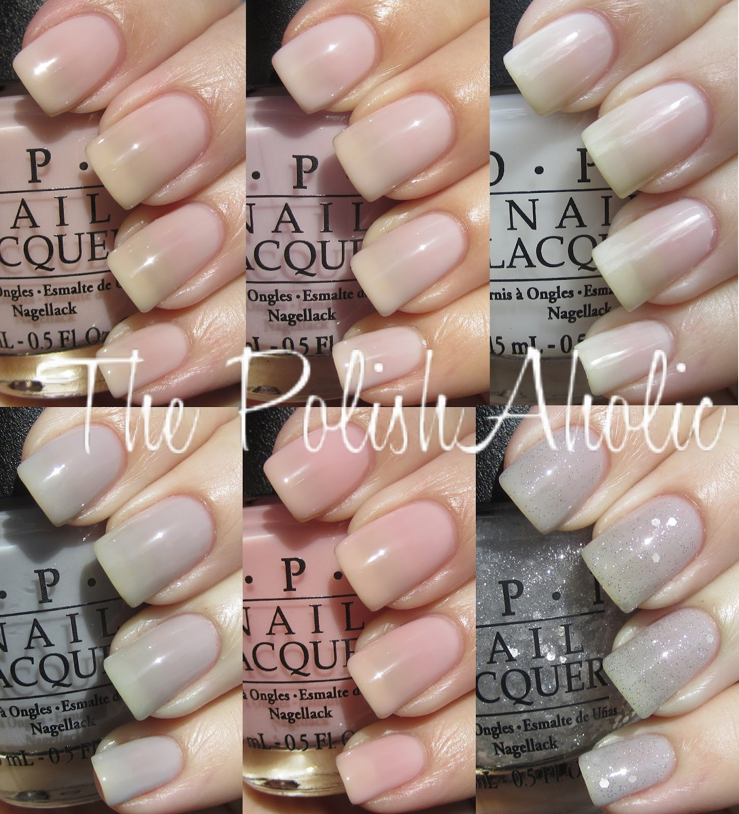 The PolishAholic: OPI NYC Ballet Soft Shades 2012 Collection Swatches!