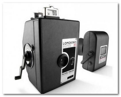 винтажная кинокамера Lomokino