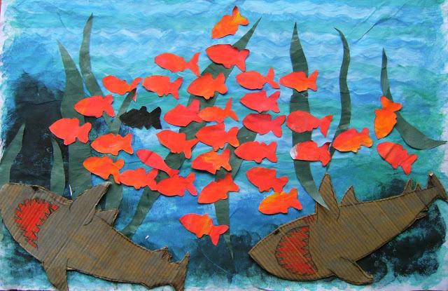 Mamma sara ha fatto un blog il pesce guizzino for Immagini di pesci da stampare