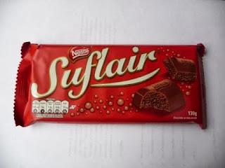 Chocolate Suflair de Nestlé