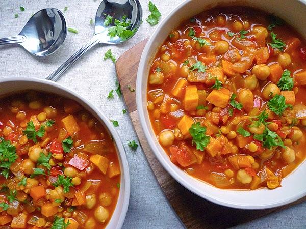 Sweet Potato and Chana Dahl Soup Recipe