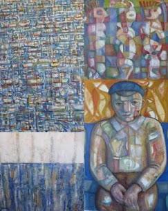"""VIGO: CAÍNO """"AS CORES DA MEMORIA"""". NA GALERÍA SOHO (PLAZA DE COMPOSTELA, 8), ATA O 4 DE NOVEMBRO"""