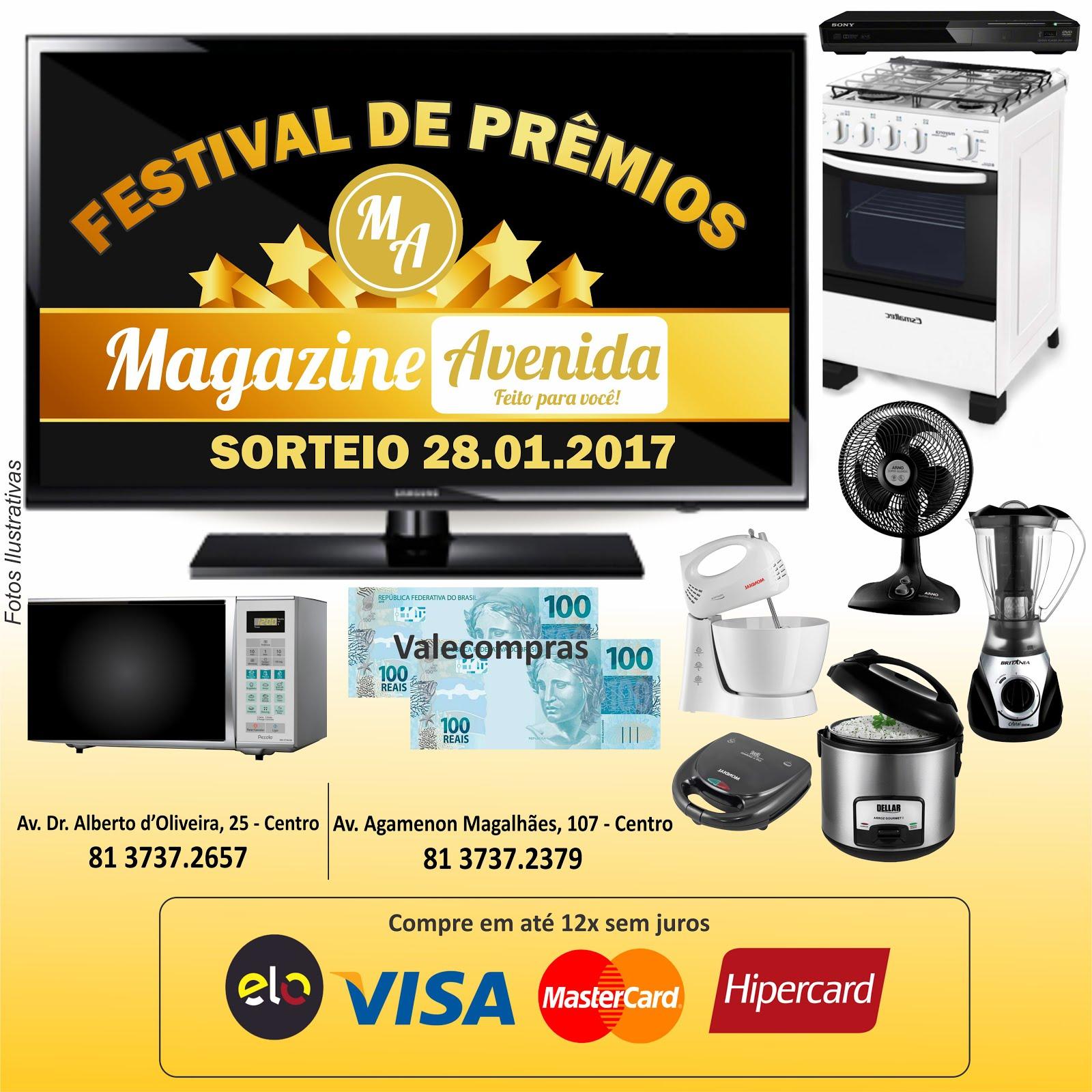 Festival de Prêmios Magazine Avenida