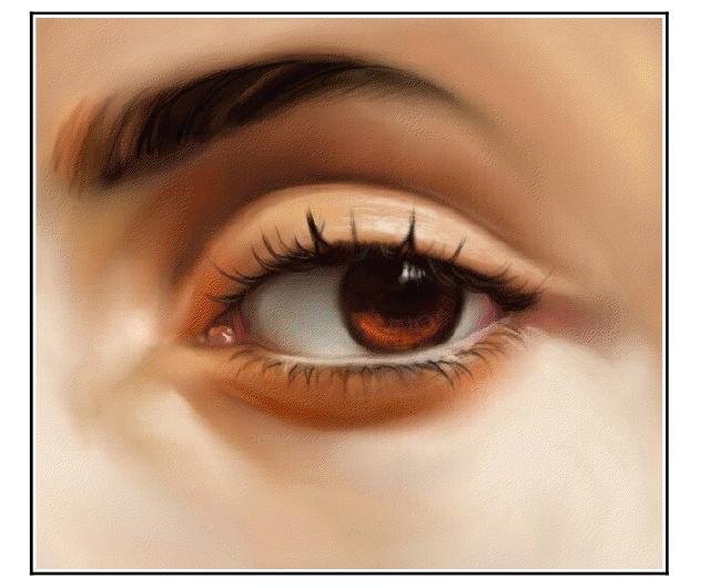 como pintarse los ojos facil