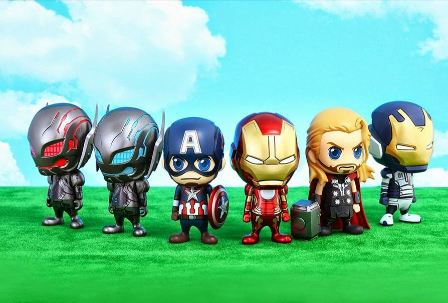 Avengers: Age of Ultron Cosbaby Series 1 Vinyl Figures by Hot Toys