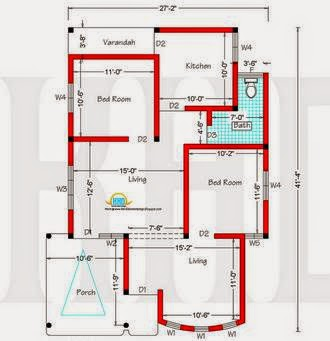 Planos de casas abril 2014 - Plano piso 40 metros cuadrados ...