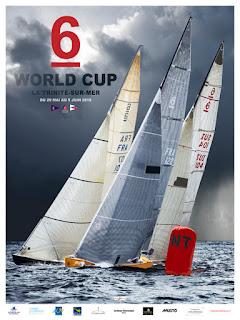 Place au championnat du Monde des Six Mètres à La Trinité.