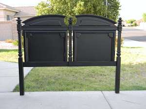 Black Full Headboard  *SOLD*