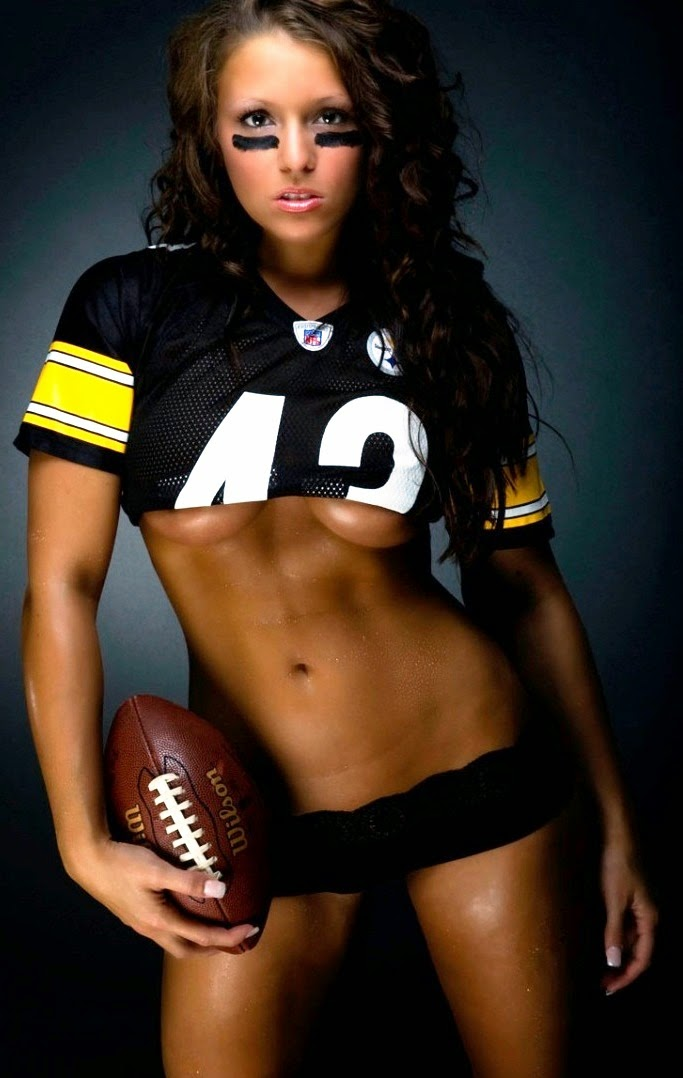 football nfl naked girl