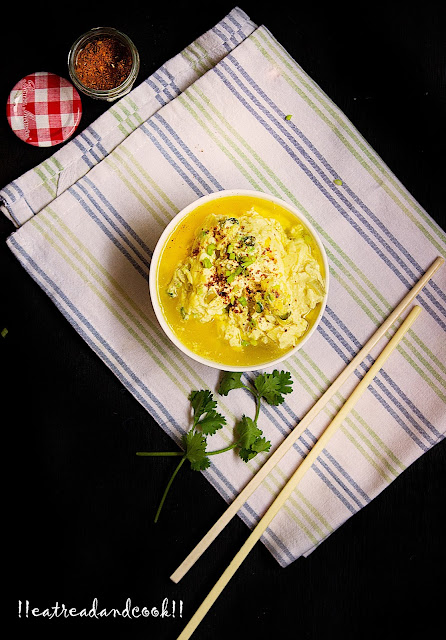 simple and easy steamed eggs recipe